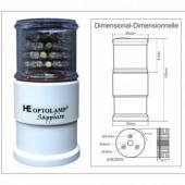 LUZ a LED SUPER ESTROBO SAPPHIRE 4 em 1 Digital