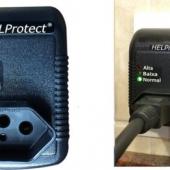 """Protetor de Tensão e Surtos para Eletrodomésticos - Eletroeletrônicos em 4 Níveis """"HELProtect ®"""""""