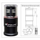 FEUX À LED Intégré AMAZÔNIA Mirim 4 Plus - Compact 5 en 1 Multi-Fonctionnel Automatique