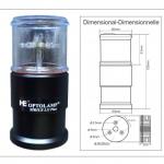 LUZ a LED de FONDEO Y ESTROBO SÍRIUS LX-Plus 2 - 4 en 1 BI-DIMENSIONAL