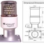 SUPER ESTROBO y FONDEO con LED SAPPHIRE BIDIMENSIONAL - 4 EN 1