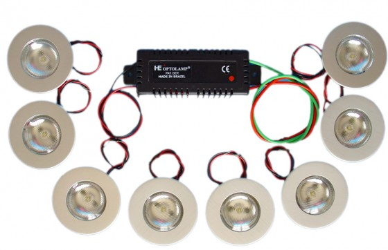 SPOT a LED de EMBUTIR Kit 3512
